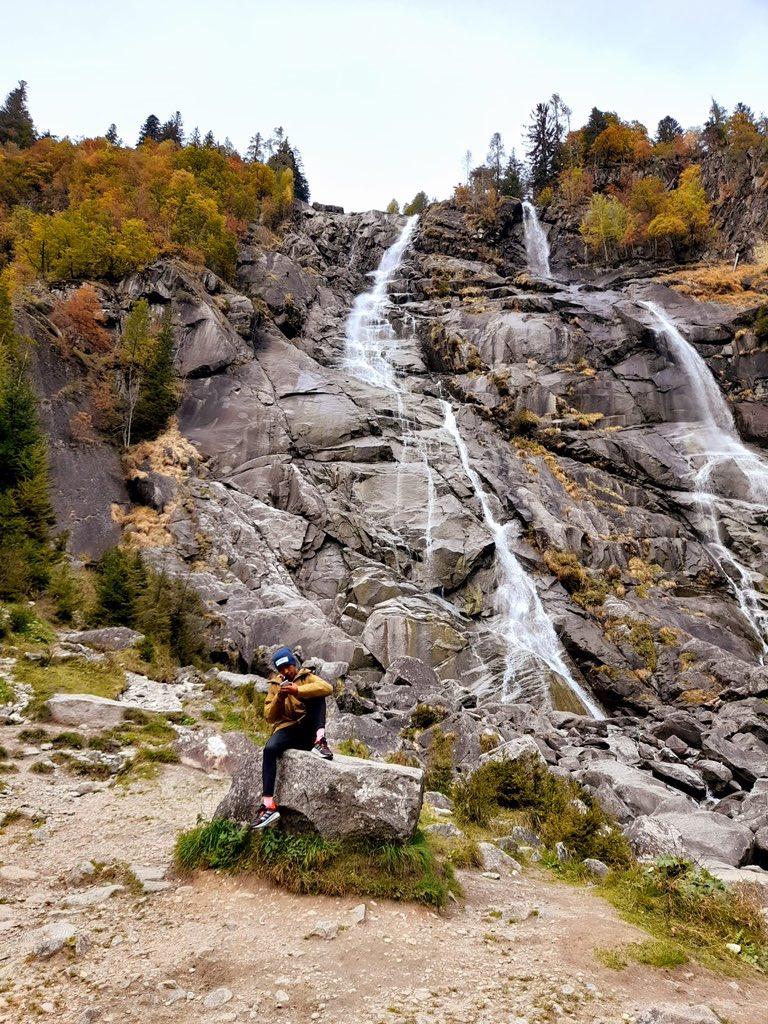 Oggi di corsa verso le Cascate Nardis con @yemancr...