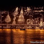 Image for the Tweet beginning: The Illuminated Boat Procession is