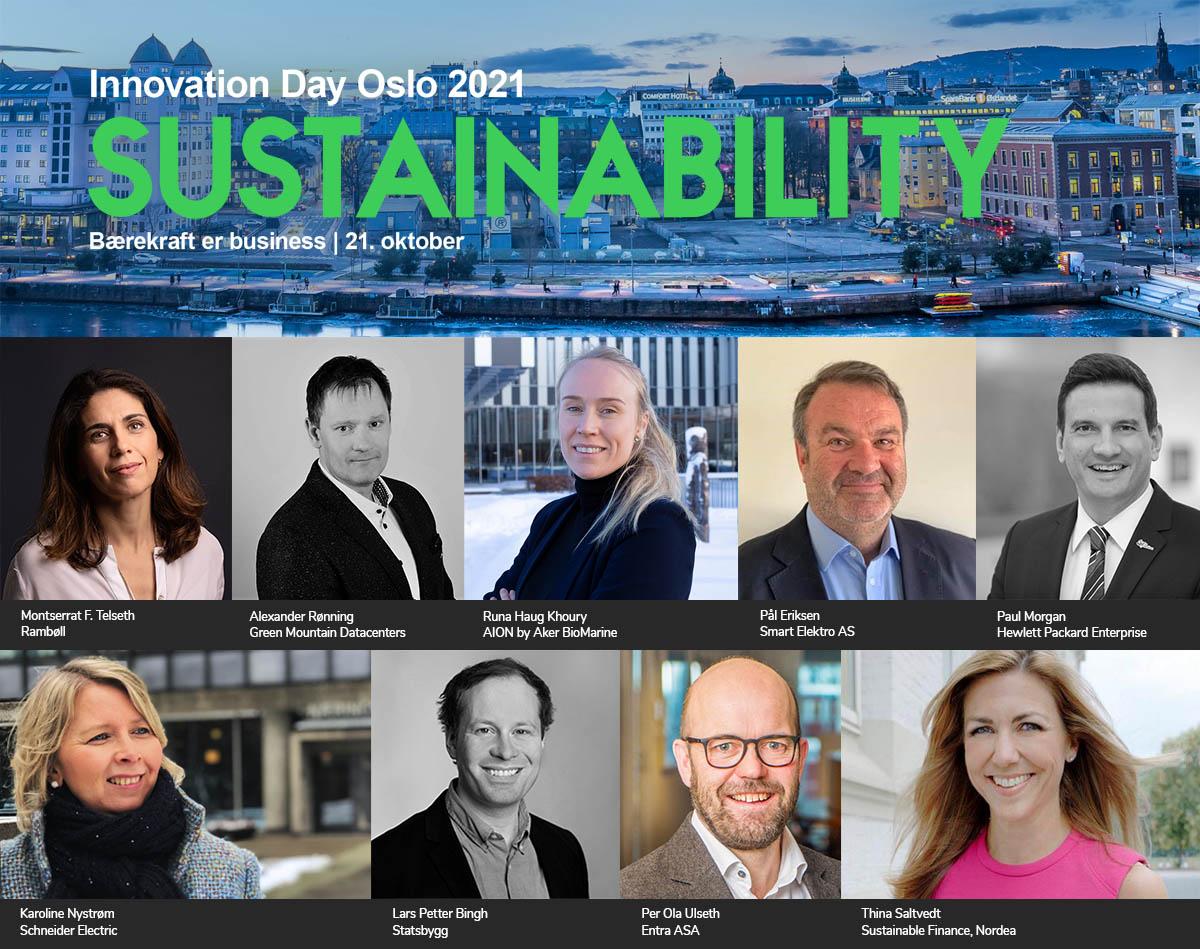 Ledere fra ulike deler av verdikjeden skal snakke om hvordan bærekraft påvirker deres finansielle resultater på Innovation Day Oslo torsdag 21. oktober! Gratis deltakelse - meld deg på nå:https://t.co/OrRMivcHlm https://t.co/Dvr5SIfFyu