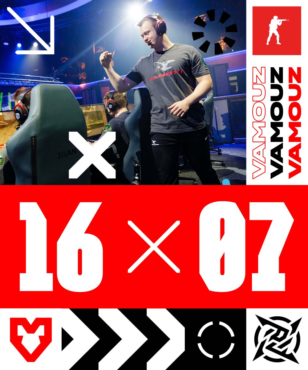 What can you say? Nuke just looked 🔥 🤷 16-7 vs Young Ninjas in #MaltaVibes Knockout Series 3 quarter-finals and now we gotta head to Vertigo #VAMOUZ 👉twitch.tv/edenesports