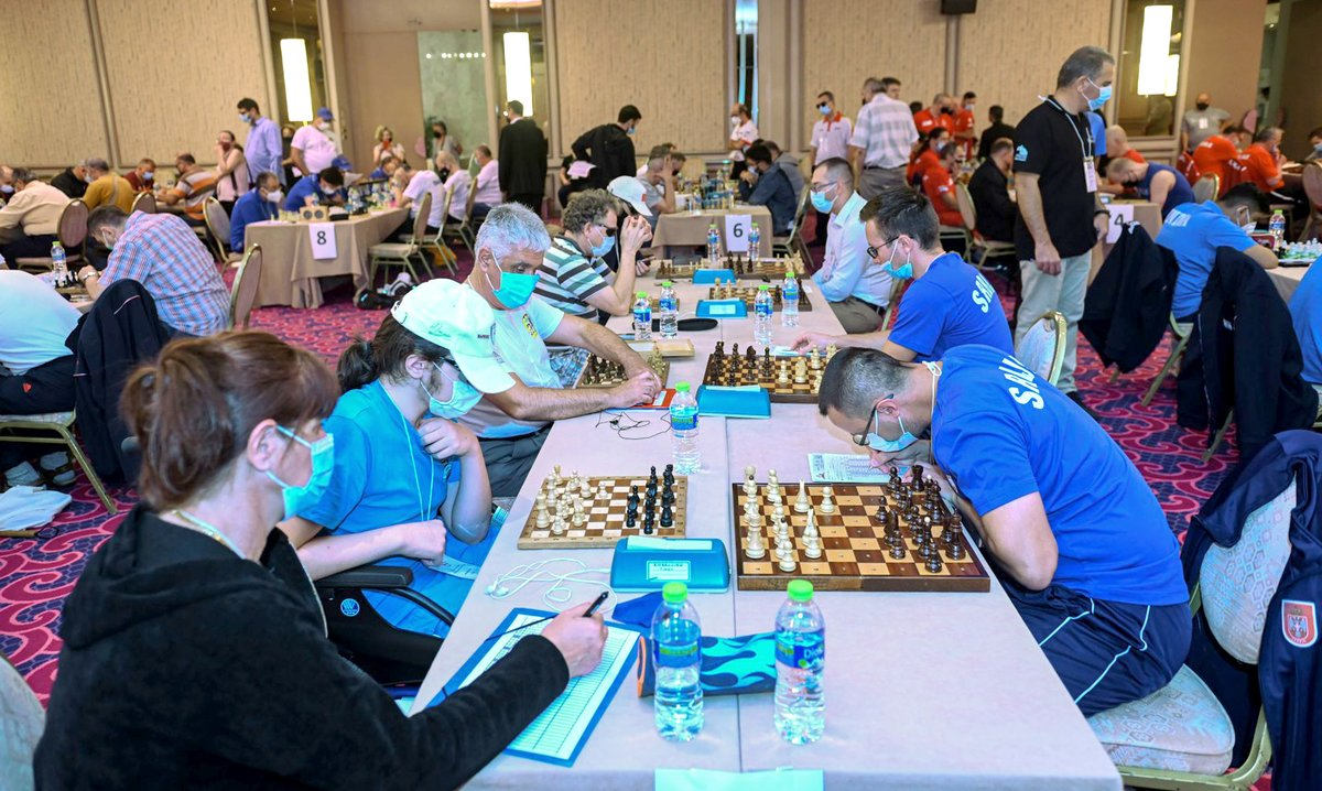 test Twitter Media - The 16th IBCA Chess Olympiad for the Blind and Visually Impaired takes place in Rhodes, Greece, from October 17-26. 109 players, including 17 title players, represent 22 federations.  More info: https://t.co/pj3wDRdbxV  📷: Organizing Committee of Rhodes Chess Festival https://t.co/1A3XmyMepb