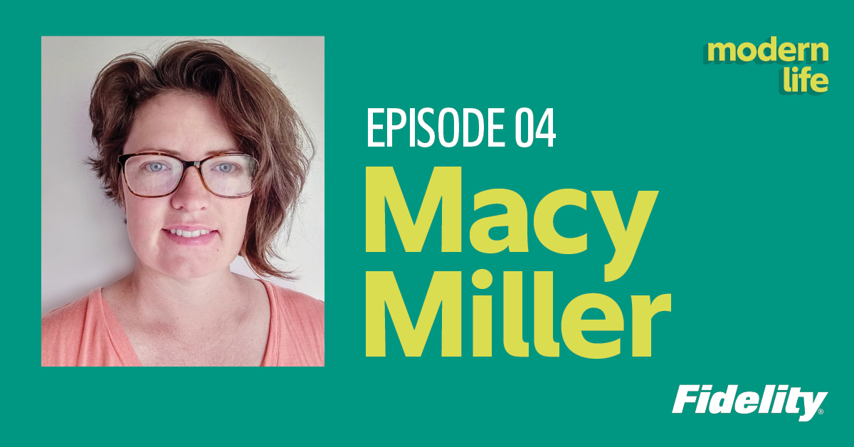 Join @JourneyToLaunch and architect Macy Miller in the latest episode of Modern Life as she redefines what 'home' means and how contentment can be found in what we already have. #FidelityModernLife  Listen now: go.fidelity.com/umtusu