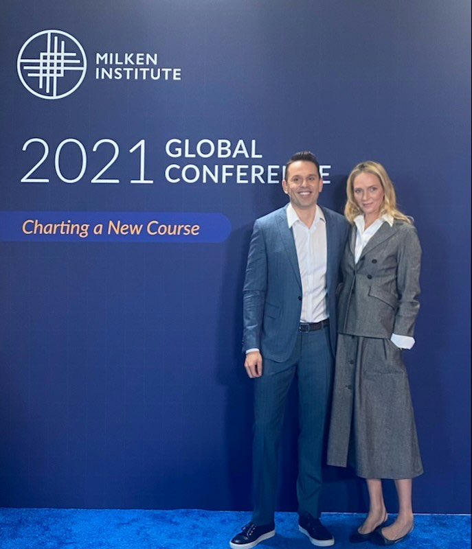 So, that's a wrap! Thanks @MilkenInstitute for having me. Delighted to have had the opportunity to discuss the potential of #psychedelics in #mentalhealth and the great work at @atai_life with my good friend Uma Thurman.   https://t.co/FueqigsNVL  #MIGlobal $ATAI https://t.co/mBjxA6bqyI