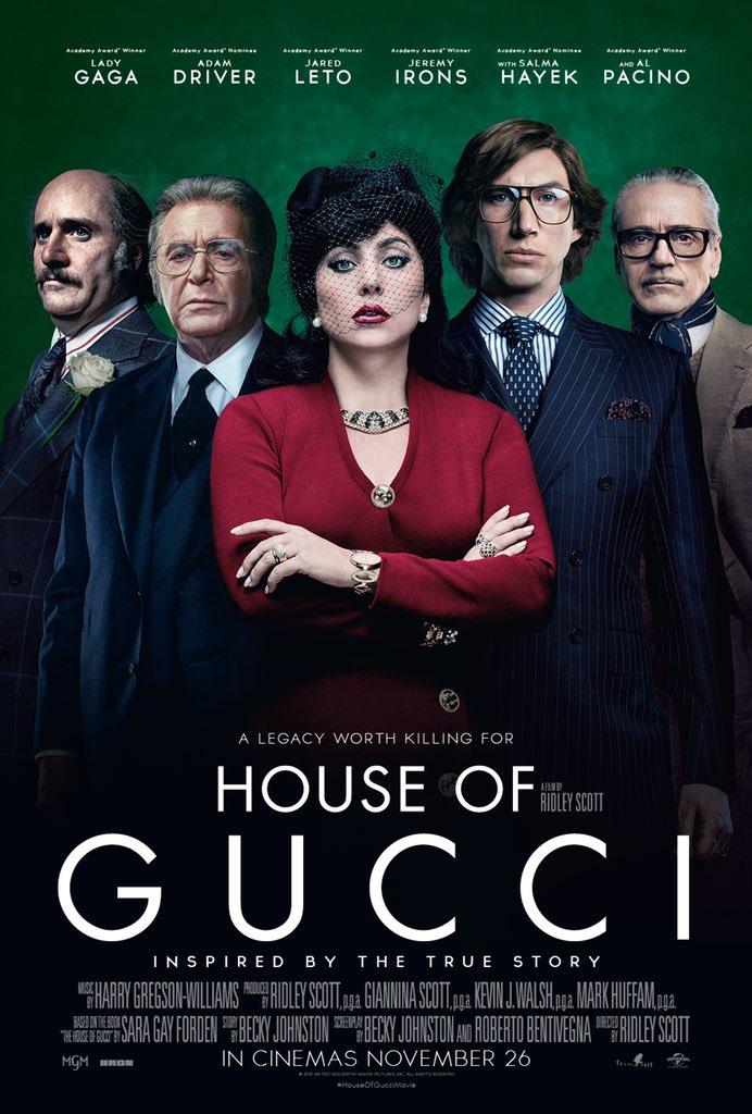 House of Gucci'den yeni poster. 26 Kasım'da vizyonda.