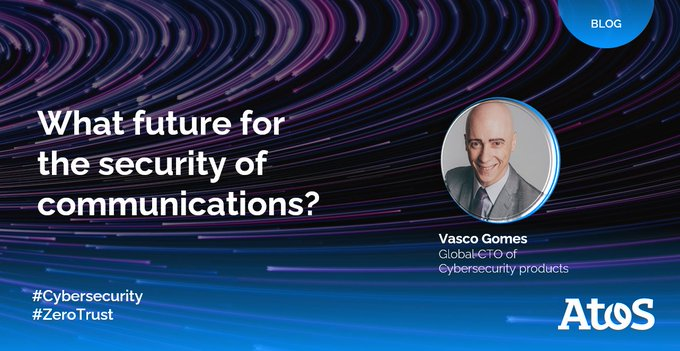 """[#BLOG] In the new blog """"Future of secure communications"""" the first episode in a..."""