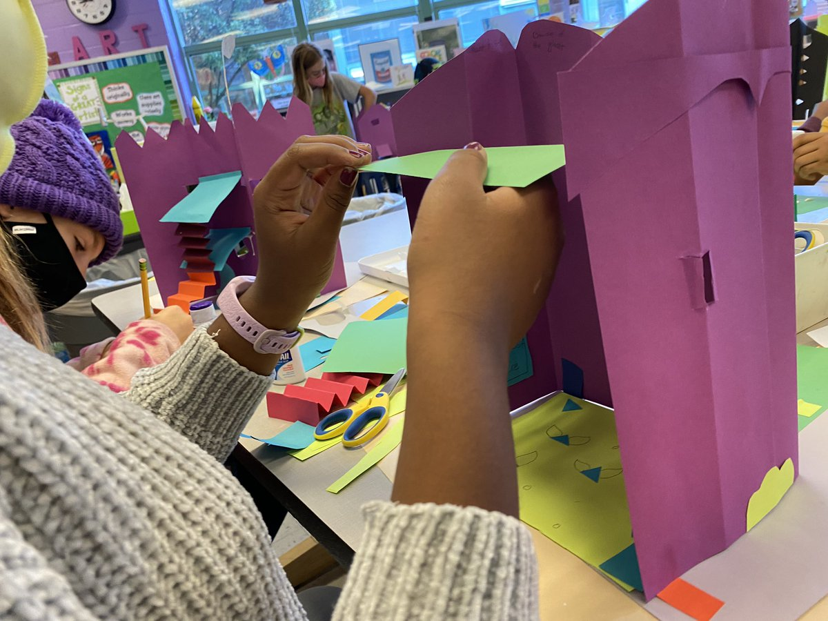In Progress— Gr 5 architects are constructing houses out of paper, using engineering techniques explored previously. Loving these creative building details! <a target='_blank' href='http://twitter.com/APSArts'>@APSArts</a> <a target='_blank' href='http://twitter.com/CampbellAPS'>@CampbellAPS</a> <a target='_blank' href='http://twitter.com/mskleif'>@mskleif</a> <a target='_blank' href='http://search.twitter.com/search?q=STEAM'><a target='_blank' href='https://twitter.com/hashtag/STEAM?src=hash'>#STEAM</a></a> <a target='_blank' href='http://search.twitter.com/search?q=3Dthinking'><a target='_blank' href='https://twitter.com/hashtag/3Dthinking?src=hash'>#3Dthinking</a></a> <a target='_blank' href='https://t.co/seQjl6kfs5'>https://t.co/seQjl6kfs5</a>