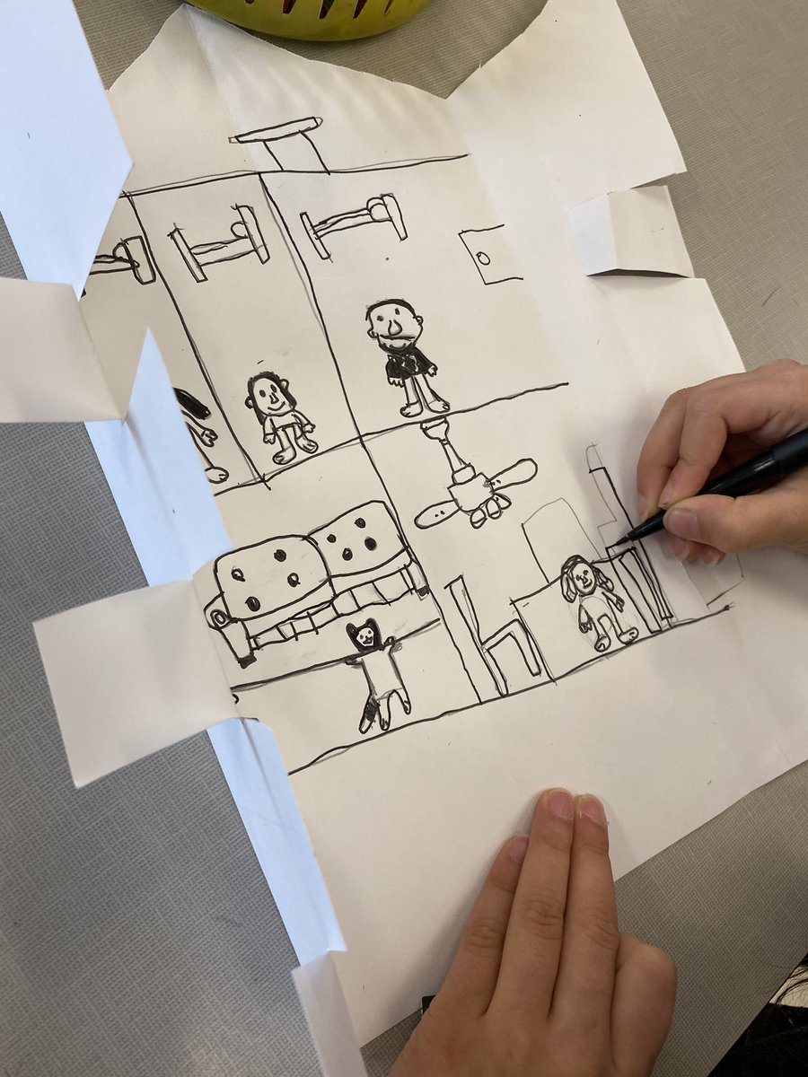 Gr 1 artists are finishing up their super cute surprise houses, using some paper engineering techniques explored previously. Who's inside? <a target='_blank' href='http://twitter.com/CampbellAPS'>@CampbellAPS</a> <a target='_blank' href='http://twitter.com/APSArts'>@APSArts</a> <a target='_blank' href='http://twitter.com/APSLiteracy'>@APSLiteracy</a> <a target='_blank' href='http://search.twitter.com/search?q=storytelling'><a target='_blank' href='https://twitter.com/hashtag/storytelling?src=hash'>#storytelling</a></a> <a target='_blank' href='https://t.co/MG2MRAHLuh'>https://t.co/MG2MRAHLuh</a>
