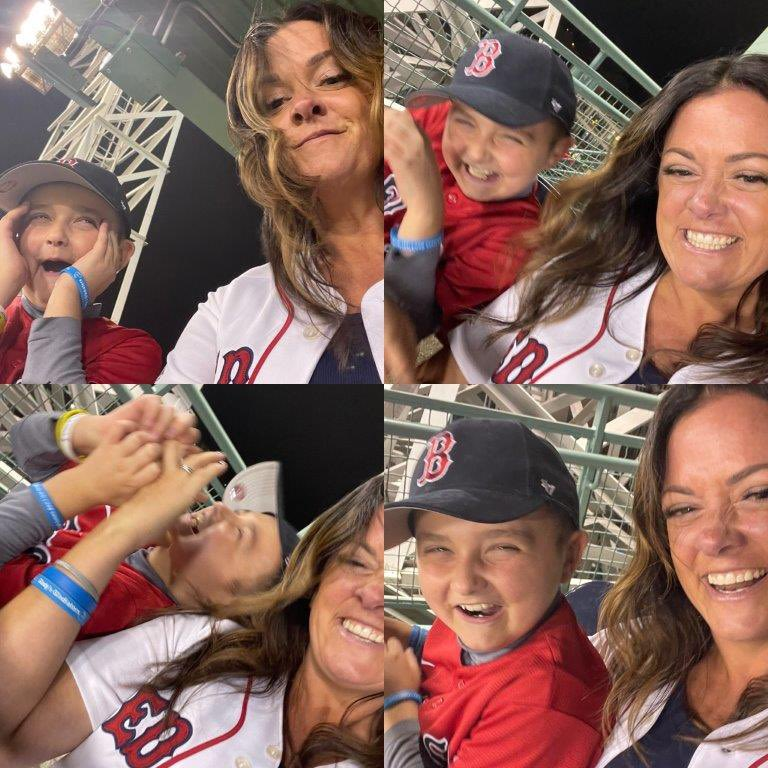 Thanks to Grady + his mom for reminding us that @TheJimmyFund is one of Boston's most precious resources. Baseball is life. https://t.co/pN2qiN4snC