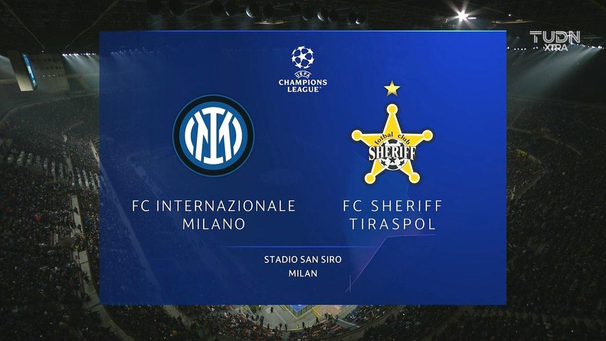Full match: Inter Milan vs Sheriff