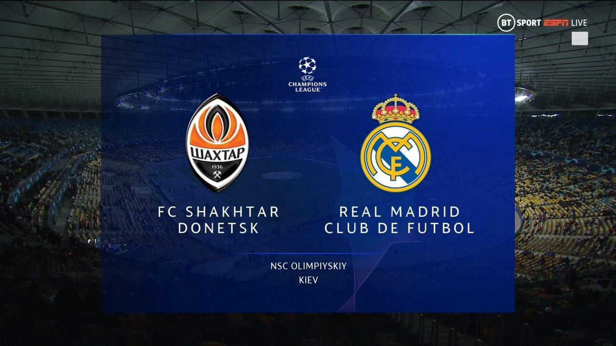 Full match: Shakhtar Donetsk vs Real Madrid