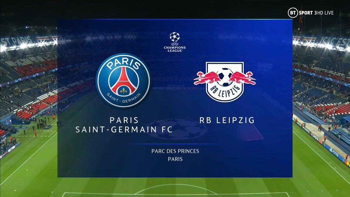 Full match: PSG vs RB Leipzig