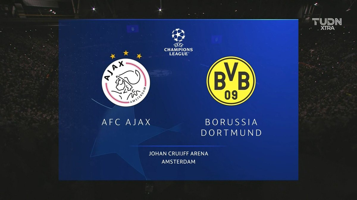 Full match: Ajax vs Borussia Dortmund