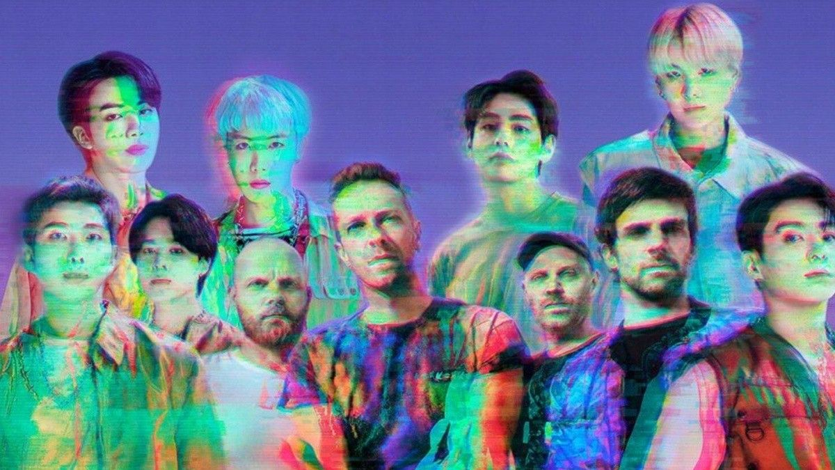 RT @40ChileOficial: ¡KHEEEEEE! Coldplay y BTS lanzan el remix de