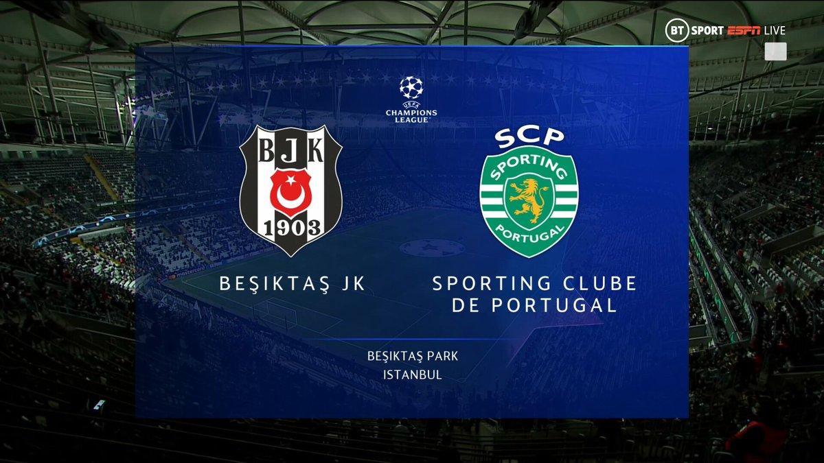 Full match: Besiktas vs Sporting Lisbon