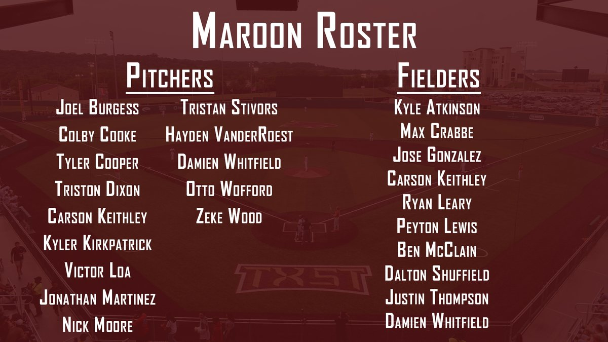 Maroon & Gold Fall World Series takes place this weekend at Bobcat Ballpark with game one on Thursday. 📰: bit.ly/3aS5zeJ #EatEmUp