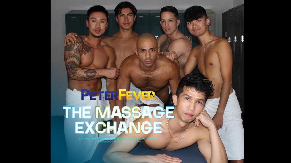 PeterFever Announces Debut of 'Massage Exchange' Series @PeterFever @THEDANNYICE @ZarioTravezzXXX @TravisYukarin xbiz.com/news/262379/pe…