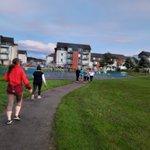Image for the Tweet beginning: Woah, so grateful jogging group