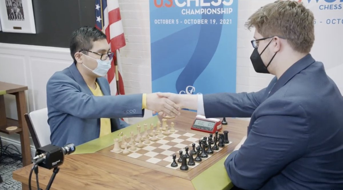 test Twitter Media - If Wesley So draws or wins this game he wins the 2021 #USChessChamps title! https://t.co/sGe0Vej1s5  #c24live https://t.co/Ixj0vABwNH