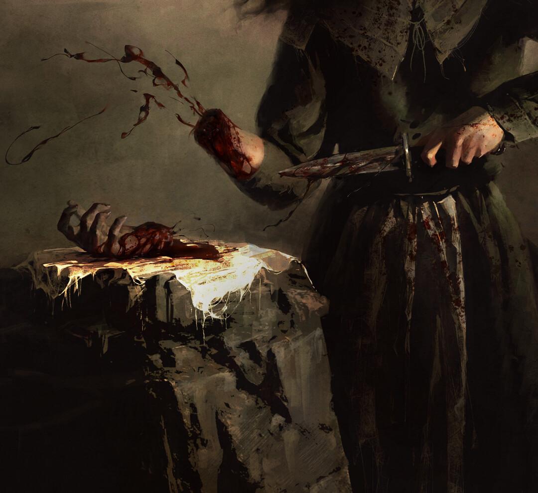 Fear Street - Sarah Fier's Cursed Hand by Houston Sharp.