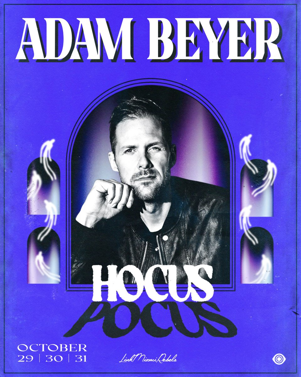 Can't wait to see the King of Techno @realAdamBeyer brew a wicked set at @HoCuSPoCuSMiA #LinkMiamiRebels #HocusPocusMiami hocuspocus.frontgatetickets.com