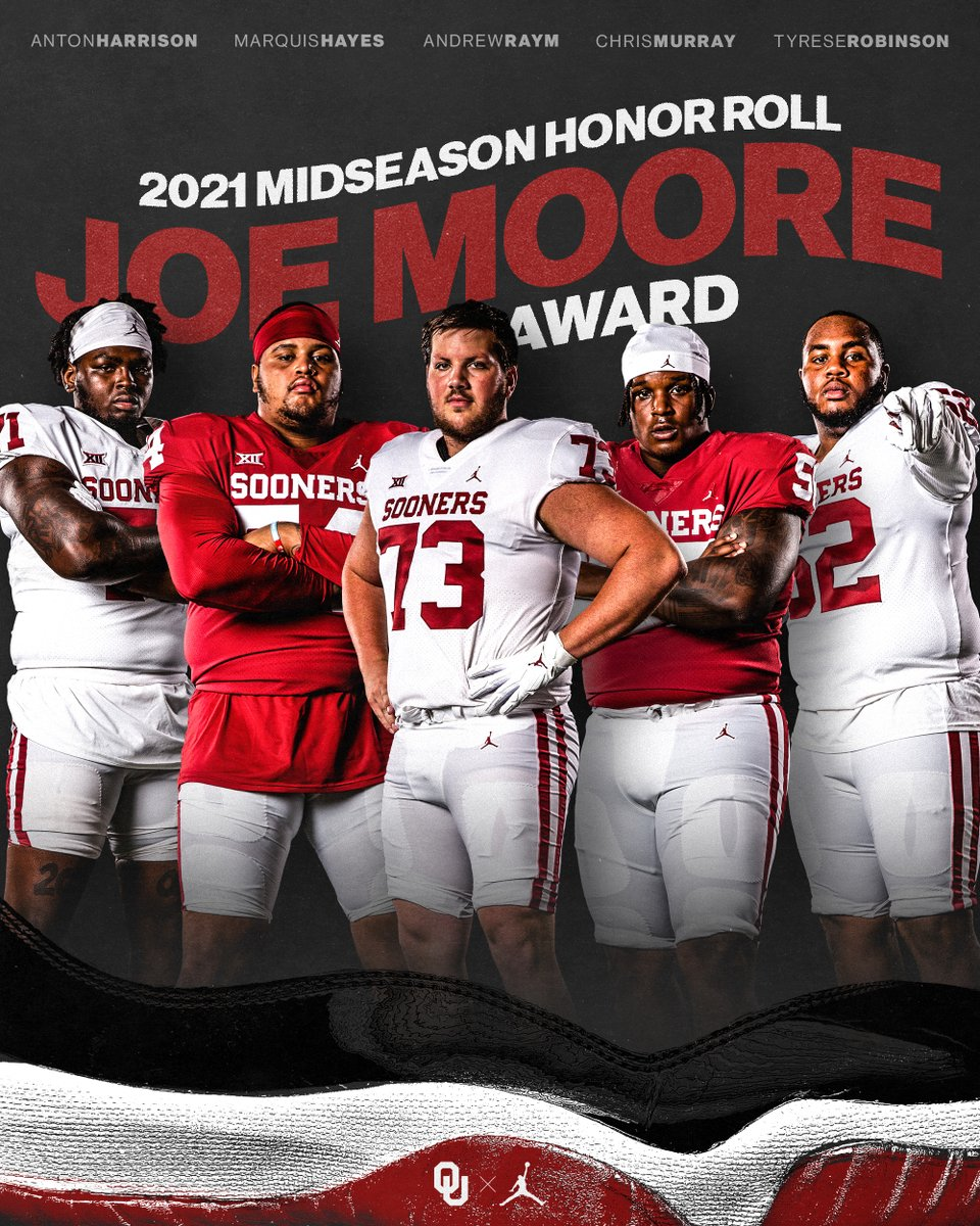 A little love for the big guys. #OLU on the @JoeMooreAward Midseason Honor Roll. bit.ly/jma21Midseason | #OUDNA