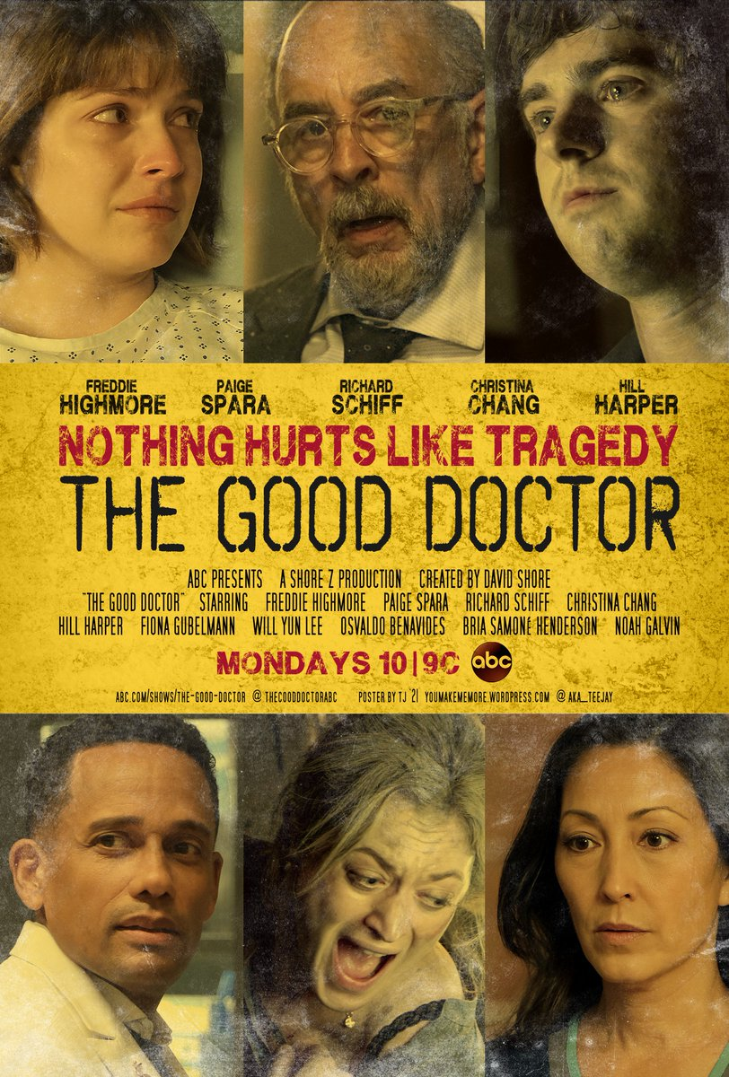No new episode of #TheGoodDoctor this week, 😒 but instead let's have a new #MovieMeme poster!! 😏 ⚕️ The Good Doctor Season 5 airs Mondays on ABC - 10|9c ⚕️ #Fanart #TGDMovieMeme #FreddieHighmore #ContagionMovie