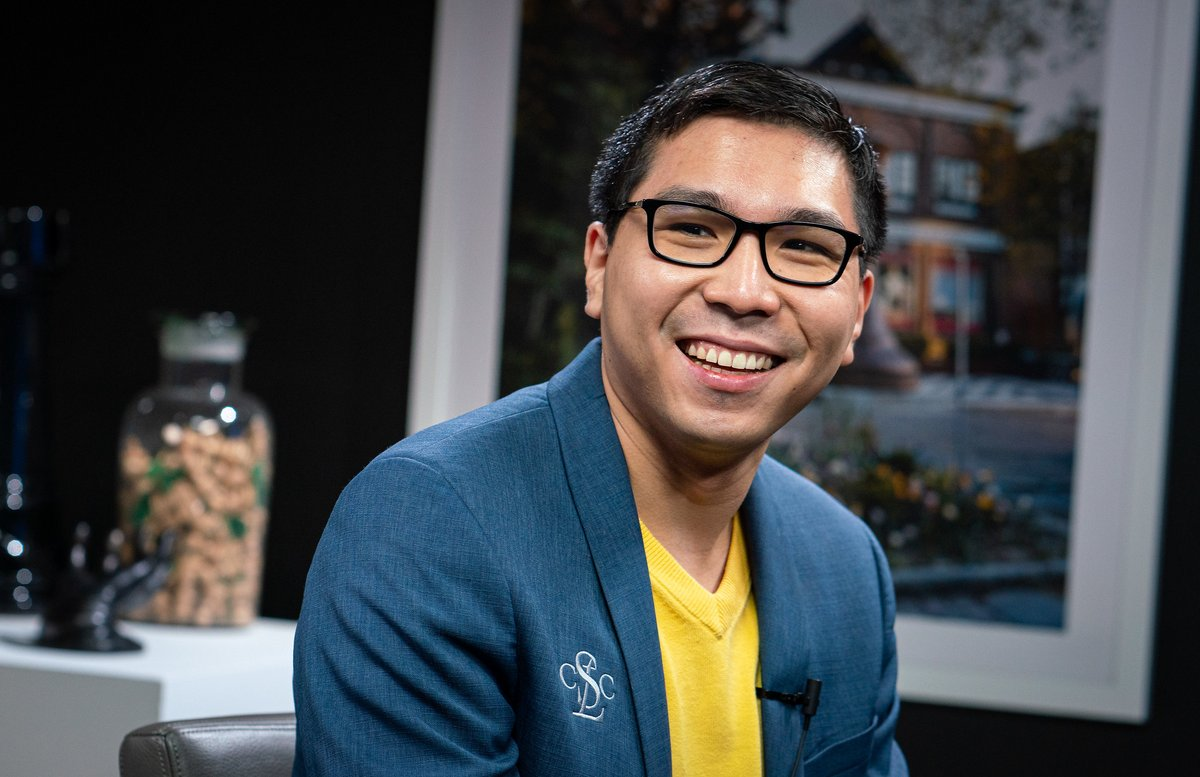 test Twitter Media - Congratulations to Wesley So for winning his third US Championship. 🏆🏆🏆 Wesley won the tiebreaks, after tying with Fabiano Caruana and Samuel Sevian in 1st-3rd place in the classical part of the tournament. 📷: Lennart Ootes https://t.co/ScnQmEuuC7