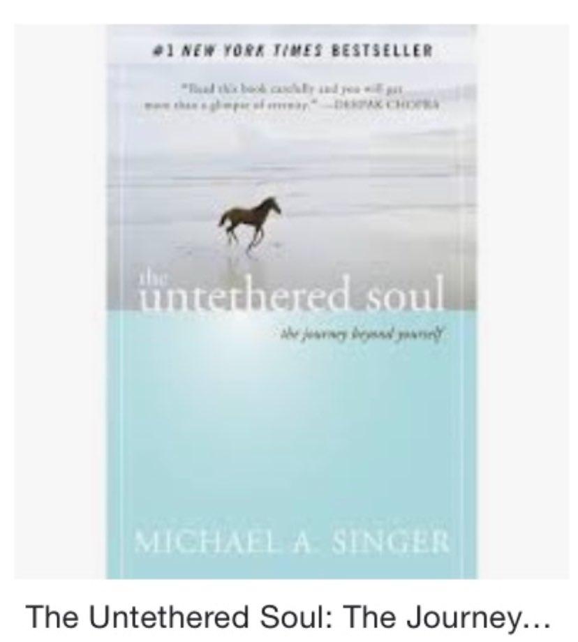 The Untethered Soul by Michael Singer is a must read!!! #SelfReflection #SelfDevelopment https://t.co/hcZTMkD3DJ