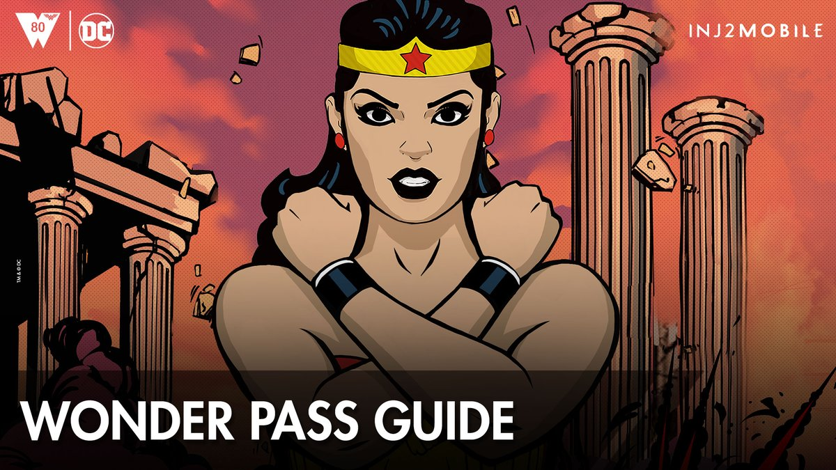 Earn wonderous rewards by completing weekly objectives in the new Injustice Pass beta feature! Early Access for #ClassicWonderWoman is available exclusively through the first season, WONDER PASS! #INJ2mobile #WonderWomanDay Learn more: go.wbgames.com/WonderPassGuide