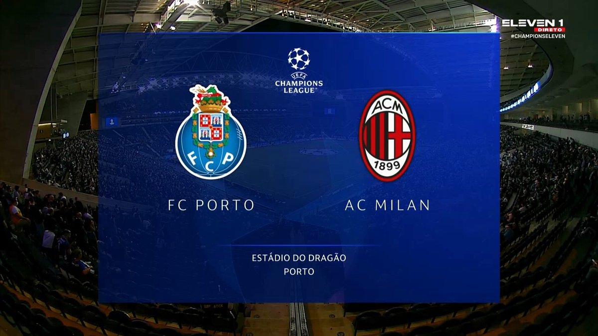 Full match: Porto vs AC Milan