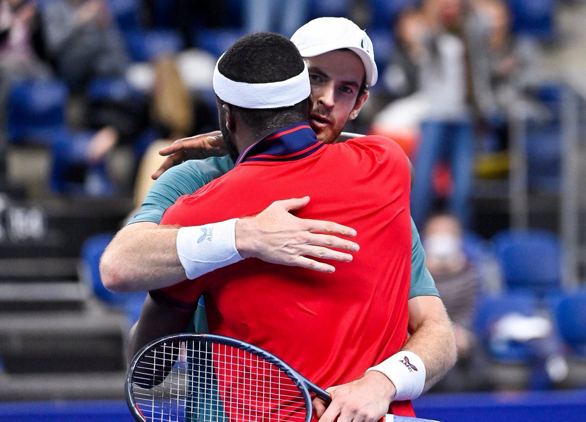 Incredible battle. Two warriors full of respect for each other. @EuroTennisOpen @atptour @andy_murray @FTiafoe
