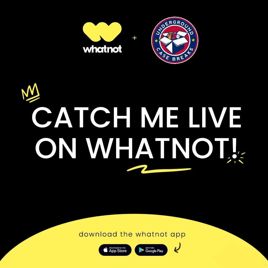 I'll be debuting on @Whatnot TOMORROW NIGHT @ 7PM CST! I'll be starting off with Topps Chrome Ben Baller & Mosaic Baseball packs. I'll be doing pack auctions until I get the hang of things! Hope to see you all there, don't miss out! @BENBALLER whatnotapp.page.link/cK1nXMeatKpb5y…
