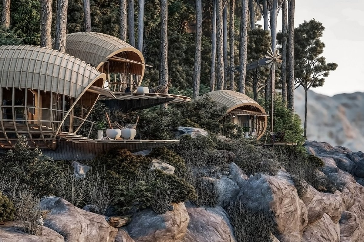 These blissful cabins in the mountains are designed to perfectly fulfill all your escapist dreams!