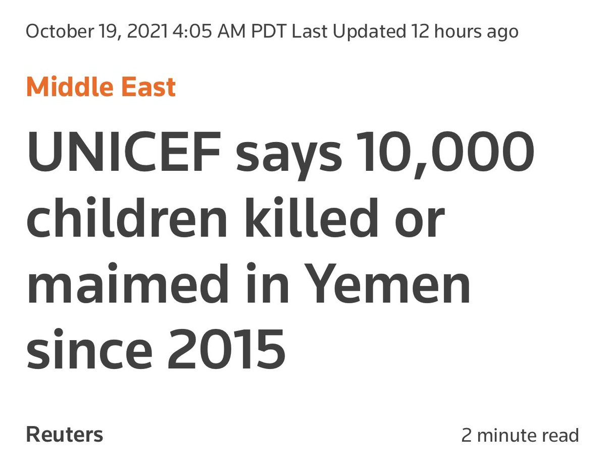 Wondering if this would be a bigger story if it wasn't one of our allies that we sell billions of dollars of weapons to doing it…