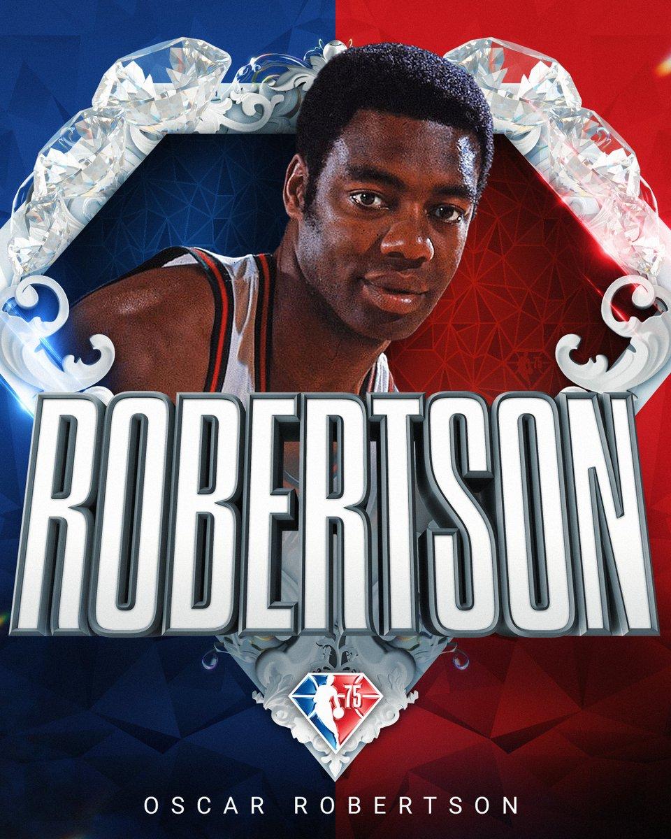Selected to the NBA's 75th Anniversary Team... Oscar Robertson! #NBA75