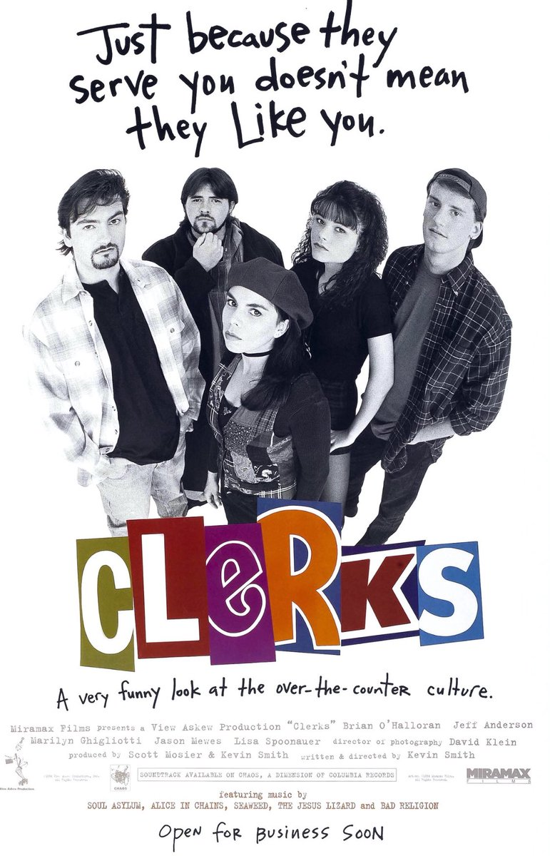 And since I still can't let it go... CLERKS III in 2022!!!