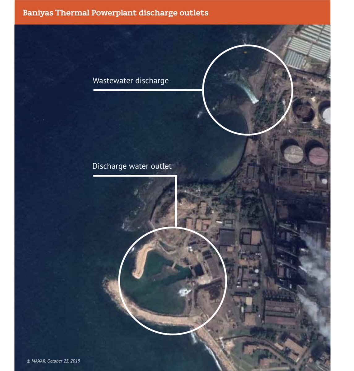 #Syria is a growing source of oil pollution in the Mediterranean and one that will grow more threatening to marine ecosystems and littoral states as the conflict continues.