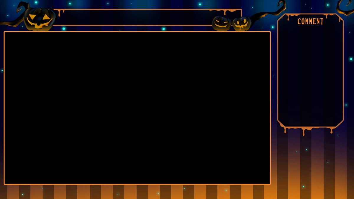 Vtuberさん配信向けのゲーム配信用背景素材第23弾を作ってみました。今回のテーマはハロウィン✨画面枠は透過素材ではないので素材の上にゲーム画面を置いてご使用ください。雰囲気に合わせてご自由にお使いください。続く↓#Vtuber  #フリー素材 #さなぽん工房
