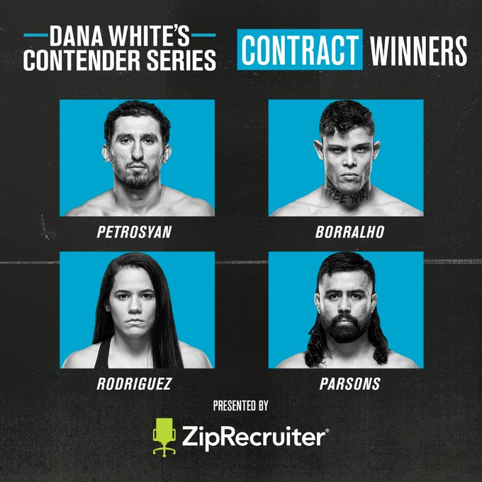 Statements made. Contracts 𝐄𝐀𝐑𝐍𝐄𝐃 👊  [ B2YB @ZipRecruiter | #DWCS | Tuesdays LIVE on ESPN+ ]