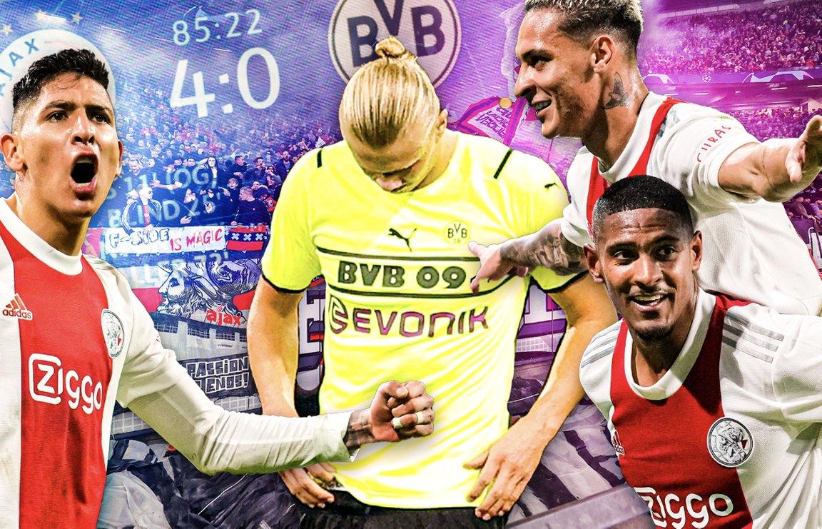 test Twitter Media - Ajax kleineert Dortmund: 'Leek net alsof ze tegen Cambuur speelden' https://t.co/JKFiAwpvpe https://t.co/aELjRNSKm9