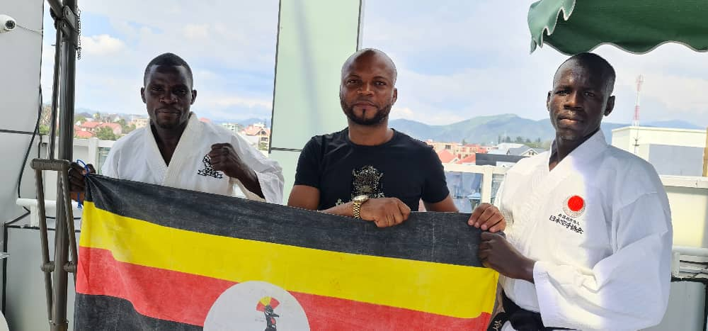 Two karateka's; Martin Emoku & Ebong Junior Cantong went to represent Uganda 🇺🇬 in the Great Lakes Countries Karate Tournament in DR Congo 🇨🇩 They left the country by road after failing to secure two air tickets & funding from NCS. The two will be in action on Saturday & Sunday.