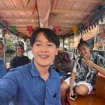 Image for the Tweet beginning: Welcome @RichardBarrow to Hidden Bangkok