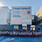 Image for the Tweet beginning: Colegio Carlos V de #Águilas