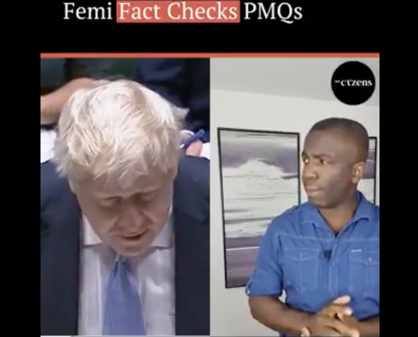 🔴 Are you watching the #PMQs? Get ready for @allthecitizens' Femi Factchecks PMQs with the forensic @Femi_Sorry 🔥🔥🔥