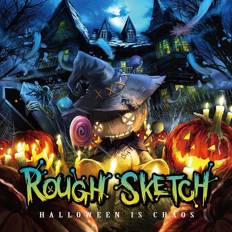 【10月31日リリース予定】RoughSketch最新アルバム!!CD限定トラックとして、BEMANIシリーズから『666 (Extreme Full Ver.)』『Carmina (RoughSketch Remix)』など収録!!