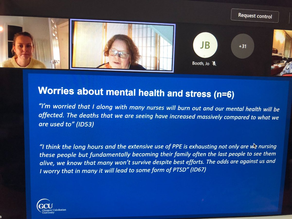 test Twitter Media - Experiences of nurses in early covid waves https://t.co/h276r3XcTU and https://t.co/kJVld4xjXr @GCUReach @GCUResearch @GCUNursing resilience, anxiety and depression https://t.co/pGjFImScop https://t.co/VKET7JRqul
