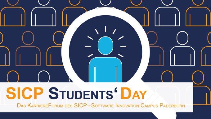 📆 Morgen von 14-19 Uhr ist Atos mit einem Stand auf dem #SCIP Students'...