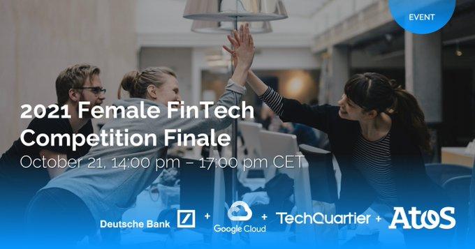 On Oct 21, 14:00 – 17:00 CET, Atos, @DeutscheBank,...