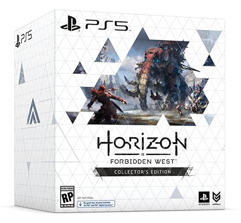Horizon Forbidden West Collector's Edition PS5  PlayStation Studios Amazon $199.99