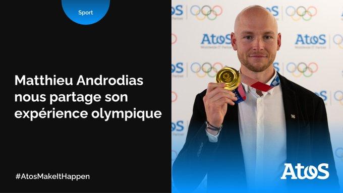 🎥 @matt_androdias, champion olympique en #aviron 🚣 et #ingénieur chez Atos, est passé...